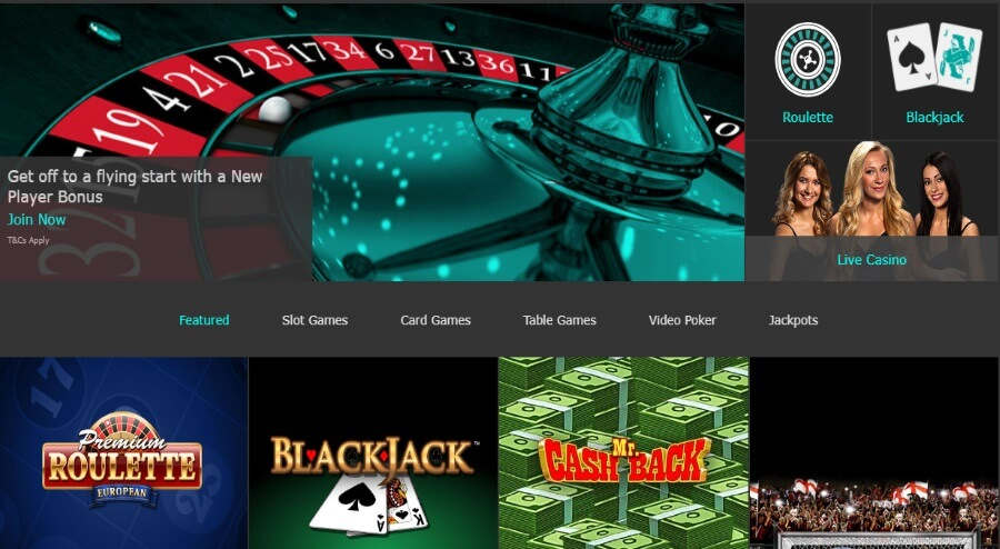 Welcome to bet365 Casino