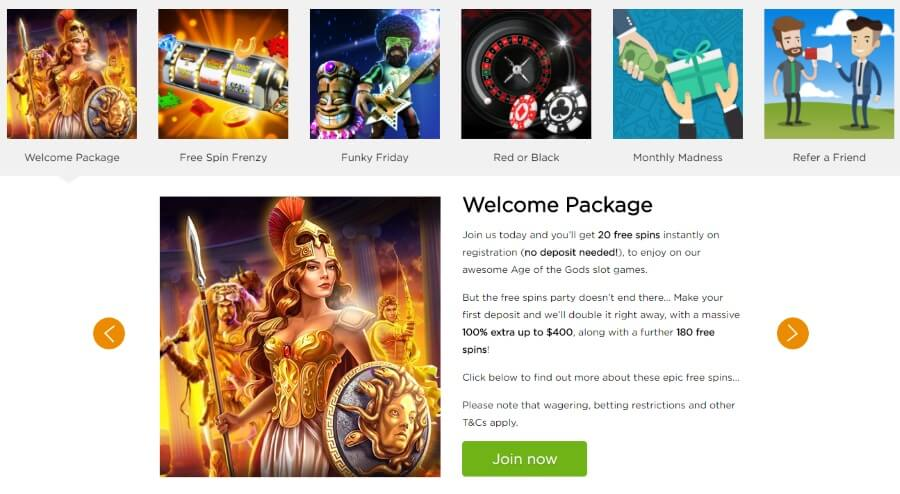 casino.com Has a Variety of Promotions
