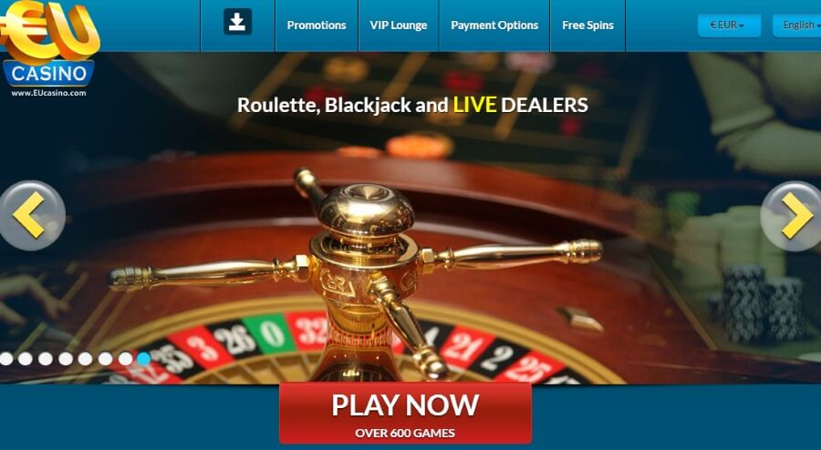 Eucasino Review Unique Games And Plenty Of Promotions