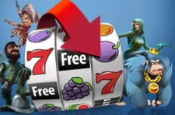 You can play slots without risking your hard earner money with the free spins
