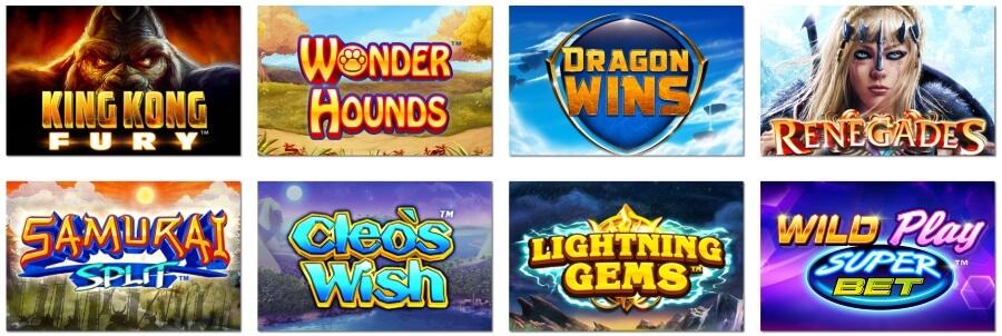 Play Featured Online Casino Games from NextGen