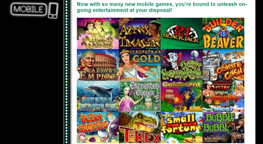 Play Online Casino Games on Your Mobile