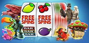 online casino free spins offer